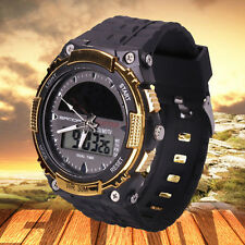 Solar Powered Watch Brand New LED Fashion Energy Sports Military Wristwatches