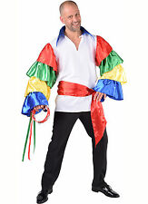 Carnival Shirt - Frilled Sleeved - Hungarian Colors
