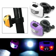 Bicycle Bike MTB LED Front Rear Head Light Head Tail Warning Lamp Taillight 400L
