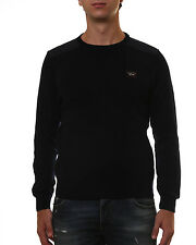Paul & Shark Sweater Pullover -30% Man Blacks SHARK918SF--50