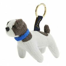 JOULES KNITTED PATCH DOG KEYRING