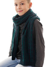 Barts Scarf Knitted Winter Scarf green Paxton Pattern warming trendy