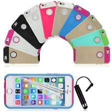 """For Apple iPhone 6 6s 4.7"""" PC Shockproof Dirt Dust Proof Hard Matte Cover Case"""
