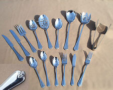 Reed & Barton 18/10 Stainless ROSECLIFF Choose Piece Forks Knifes Spoons MORE