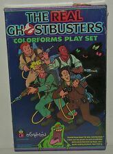 SEALED 1986 Real Ghostbusters COLORFORMS Playset RARE Vintage Mint MIB