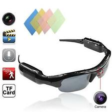 HD Polarized Video Spy Camera Sun Glasses Digital Audio Recorder DV Camcorder LN
