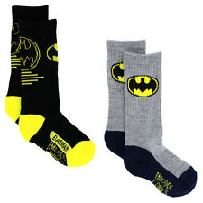 Batman Boys 2 pack Sport Socks BM7046 (Toddler/Little Kid/Big Kid)