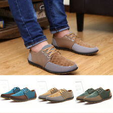 Fashion Mens Boys Canvas Mesh Sports Casual Shoes Sneakers Recreational Shoes