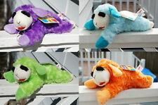 ADORABLE LAMB CHOP LARGE STUFFED PLUSH DOG TOY SHARI LEWIS YOUR CHOICE OF COLORS
