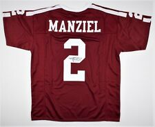 "Johnny Manziel Hand Signed ""2"" Texas A&M Aggies Jersey Autograph JSA WITNESSED"