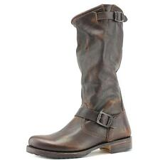 Frye Veronica Slouch Wide Calf Women  Round Toe Leather  Knee High Boot