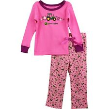 John Deere Tractor Girls Pajamas PJ Set FG2988P (Little Kid/Big Kid)