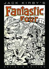 IDW JACK KIRBY FANTASTIC FOUR Artist's Edition HARDCOVER! HC!