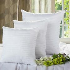 LUXURY PILLOWS HOTEL HOME HOLLOW FIBRE FILLED BED PILLOW SOFA BACK CUSHION PICK
