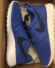 Nike Roshe One GS Comet Blue Binary Blue White 599728-420 3.5-7 Grade School