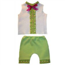 Baby Girls' Summertime Flowers 2 Piece Shorts Clothing Set Preemie and Newborn