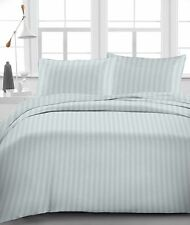 Light Grey Stripe 100% Egyptian Cotton 1000 TC 35 Cm Drop 6 PCs Sheet Set