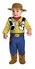 INFANT TODDLER DISNEY TOY STORY WOODY COWBOY COSTUME DRESS DG6981