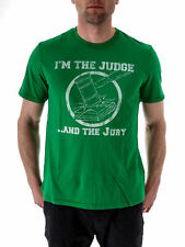 Local Celebrity T-Shirt Judge and Jury green Short Sleeved Crew Neck