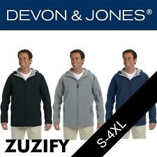 Devon & Jones Mens Hooded Soft Shell Jacket. D998