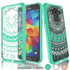 Hybrid Shockproof TPU Bumper Clear Back Case Cover for Samsung Galaxy J7 2015
