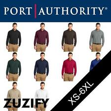 "Port Authority Long Sleeve ""Silk Touch"" Polo Shirt. K500LS"