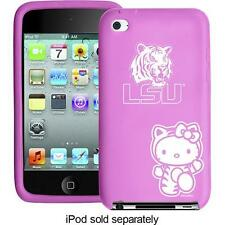 Hello Kitty LSU Tigers Case for 4th-Generation Apple iPod touch -Soft Case  New