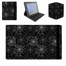 Spider Webs Flip Folio Case - fits iPad Air Mini Samsung Galaxy