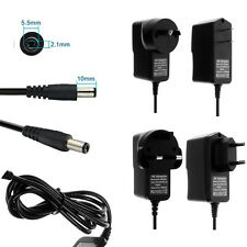 AC 100-240V to DC Power Supply Charger Adapter Converter Cord Cable 5.5mm x2.1mm