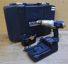 Mac Allister COD24VG3 24V Cordless Hammer Drill Tool With Carry Case + 1 Battery