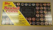 1990 TOPPS Baseball Coins  Complete set of 60 STILL SEALED IN BOX NEW
