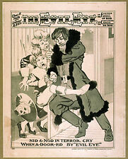 Photo Print Vintage Poster: Stage Theatre Flyer The Evil Eye 11