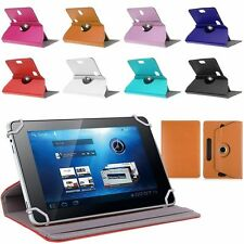 """360° Folio Leather Case Cover For Universal Android Tablet PC 7"""" 8"""" 9"""" 10"""" inch"""
