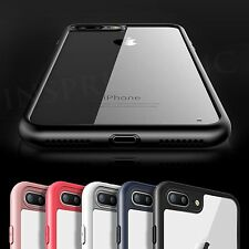 New Ultra thin Crystal Clear Rubber Bumper Back Case Skin For iPhone 6 6s 7 Plus