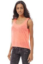 APPEALING DIPPED HEM SHEER VEST TOP