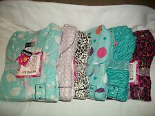 Joe Boxer Women Flannel 2 Piece Pajama  Sets NWT XS,S, M. XL, Various Patterns