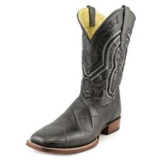 Corral A3084 Men  Square Toe Leather Black Western Boot