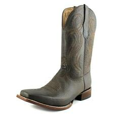 Circle G by Corral L5258 Women  Square Toe Leather Brown Western Boot