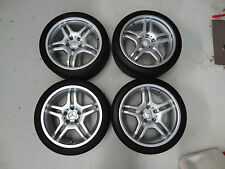 GENUINE C55 AMG MERCEDES STYLE IV 18X7.5 18X8.5 INCH WHEELS AND TYRES 5X112 C32