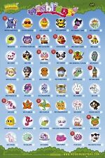 New Moshlings Tick Chart Moshi Monsters Poster