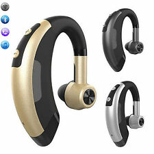 Wireless Handsfree Bluetooth Headset Stereo Headphone Earpiece W MIC For Phones
