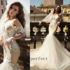 2017 Summer Sexy Mermaid Wedding Dresses Sweetheart Dots Lace Bridal Gowns New