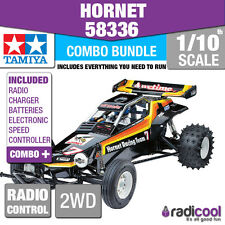 COMBO DEAL! 58336 TAMIYA HORNET 2WD OFF ROAD BUGGY 1/10th R/C KIT RADIO CONTROL