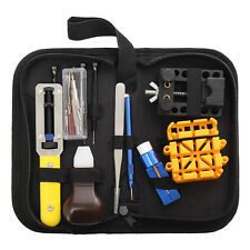 21Pcs Watch Pin Holder Repair Tool Set & Band Remover Spring Bar With Case Kit