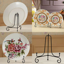 4 -12 inch Iron Easel Display Stand Bowl Plate Art Photo Picture Frame Little