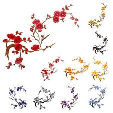 Elegant Style Flower Embroidery Iron On Applique Patch
