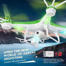 Quadcopter Drone RC 2.4Ghz 6-Axis Gyro RC UAV RTF UFO with HD Camera Drone 4CH