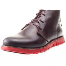 London Brogues Gatz Chukka Mens Boots Brown Red New Shoes