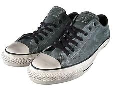 Converse by John Varvatos Chuck Taylor Ox Oxford Pebbled Leather Grey 150171C