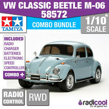 COMBO DEAL! 58572 TAMIYA VOLKSWAGEN BEETLE CLASSIC 1/10th R/C KIT RADIO CONTROL